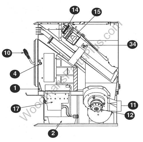 Fireplace Blower Wiring Diagram Also Quadra Fire Pellet Stove Blower