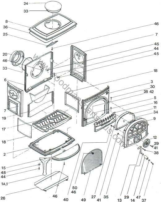 Jotul 8 Parts Diagram