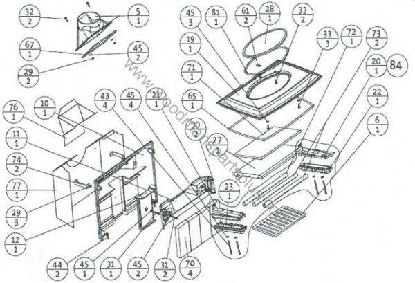 Wood Stove Diagram