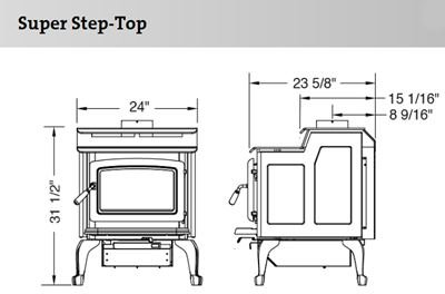 Pacific Energy Super 27 Step Top