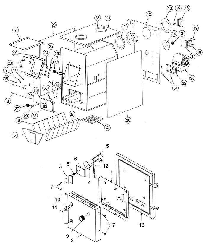 Furnace Parts List