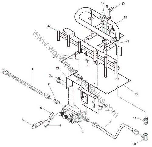 Vantage Hearth Value Line 32 Inch Burner Assembly