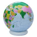 Large Inflatable World Globe, Political - 36 inch