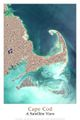 Cape Cod Satellite Poster