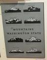 Mountains of Washington Poster