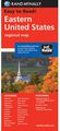 Eastern U.S. Road Map by Rand McNally