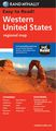 Western US Road Map l Rand McNally