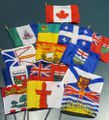 Canada Mini Flags, Provinces & Territories - Choose from the List