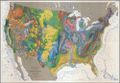 United States Geologic Map - 3 Piece