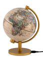 Illuminated Mini Antique Globe - 5