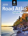 2019 Road Atlas USA - Spiral Midsize - by Rand McNally