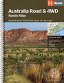 Australia Handy Road & 4WD Atlas Spiralbound by Hema