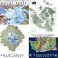 Mitchell Geography Maps (Washington)