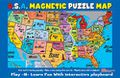 U.S. Magnetic Map Puzzle