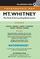 Mt. Whitney Topographic Map - CA