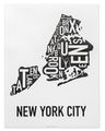 New York City (Boroughs) Neighborhood Map