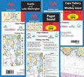 Puget Sound Waterproof Nautical Charts by Maptech