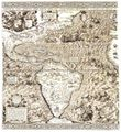 Antique Map of the Americas 1562