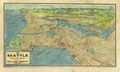 Antique Map of Seattle 1925 by Great River Arts
