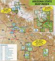 Arizona Trail Maps by Green Trails - Choose from the List