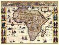 Antique Map of Africa 1665