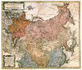 Antique Map of Imperial Russia 1739