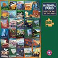 National Parks WPA Poster Puzzle l Ziga Media
