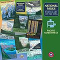 National Parks WPA Posters Puzzle of the Pacific Northwest