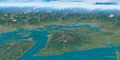 Puget Sound Panorama Map