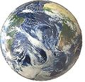 Inflatable World Globe - Satellite View