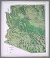 Arizona Raised Relief Map