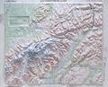Denali National Park Raised Relief Map