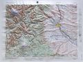 Yakima Raised Relief Map
