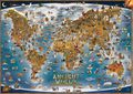 Children's Illustrated Map of the Ancient World