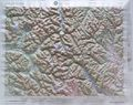 Concrete Raised Relief Map
