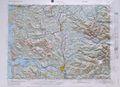 Hoquiam Raised Relief Map
