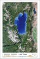 Lake Tahoe Satellite Photo by Tahoe Maps