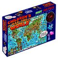 Children's World Map Jigsaw Puzzle by Hema