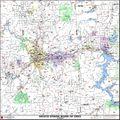 Spokane ZIP Code Map by Kroll Map