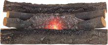 Crackling Oak Electric Log Set