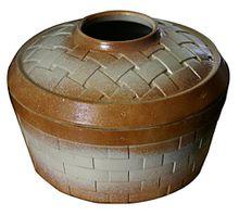 Basket Weave Steamer Mocha Sand