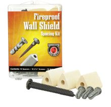 Stoveboard Wall Spacing Kit