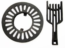 Stove Dump Grate, 12 1/4 inches
