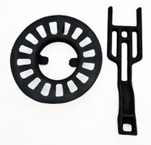 Round Dump Stove Grate, 8 inches