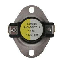 Fan Control Switch Open 110F, Close 120F