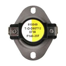 Fan Control Switch Open 120F, Close 140F