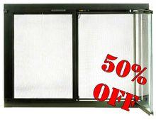 Modern Fireplace Glass Doors - ALL 50% OFF