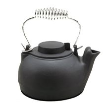 Black Matte Cast Iron Kettle