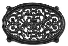 Large Oval Filigree Stove Trivet