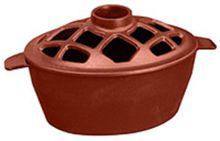 Apple Red Small Lattice Steamer